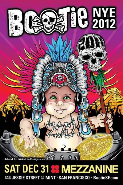 Bootie NYE 2012